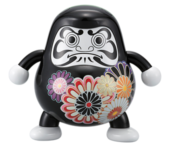 Bandai, Tamashii Nations' Daruma Club Vol. 1 - Japan Style Daruma | ActionCity Singapore