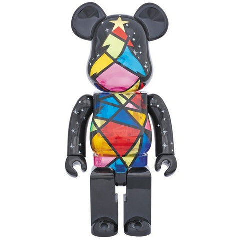 BE@RBRICK 2016 Xmas Stained Glass Tree Ver. 400%
