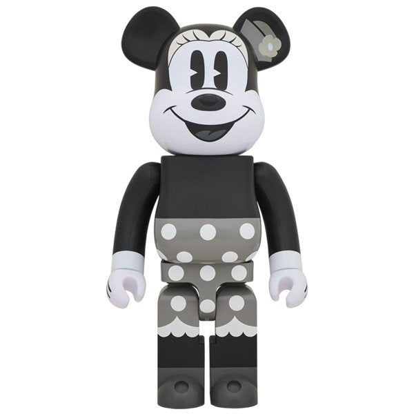 BE@RBRICK Minnie Mouse (B&W Ver.) 1000% - ActionCity