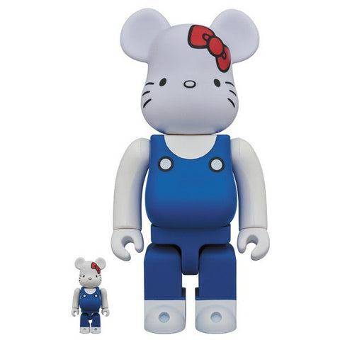 BE@RBRICK Hello Kitty Generation 70s 100% & 400%