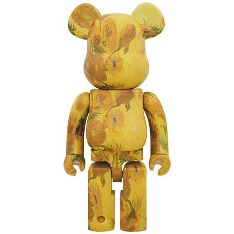 BE@RBRICK Van Gogh Museum Sunflowers 1000% - ActionCity