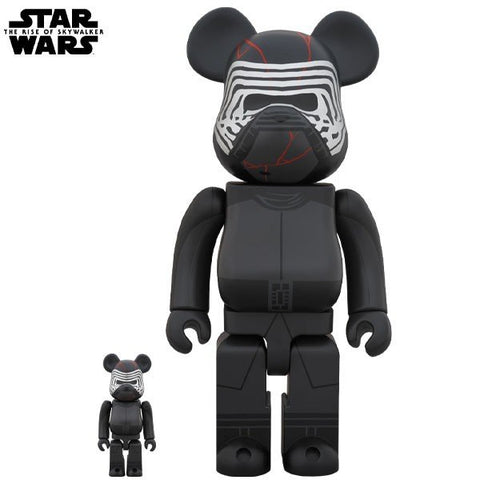 BE@RBRICK Kylo Ren (TM) (The Rise of Skywalker Ver.) 100% & 400% - ActionCity