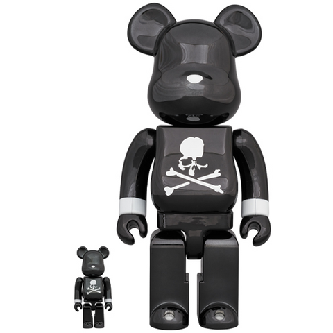 BE@RBRICK Mastermind Japan Black Chrome 100% & 400% - ActionCity