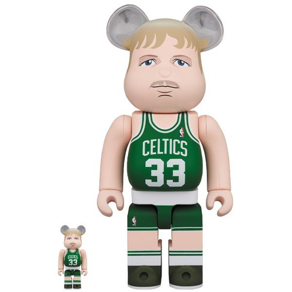 BE@RBRICK Larry Bird (Boston Celtics) 100% & 400%