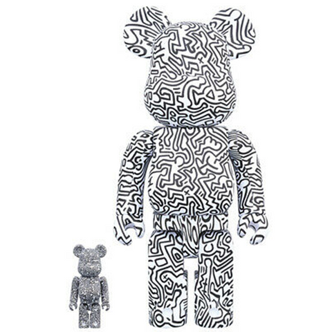 BE@RBRICK Keith Haring #4 100% & 400% - ActionCity