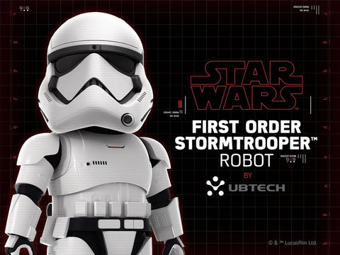 Star Wars First Order Stormtrooper Robot by UBTECH