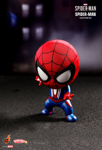 Spiderman Cosbaby (S) Bobble-Head Hot Toys (COSB513) - ActionCity Singapore