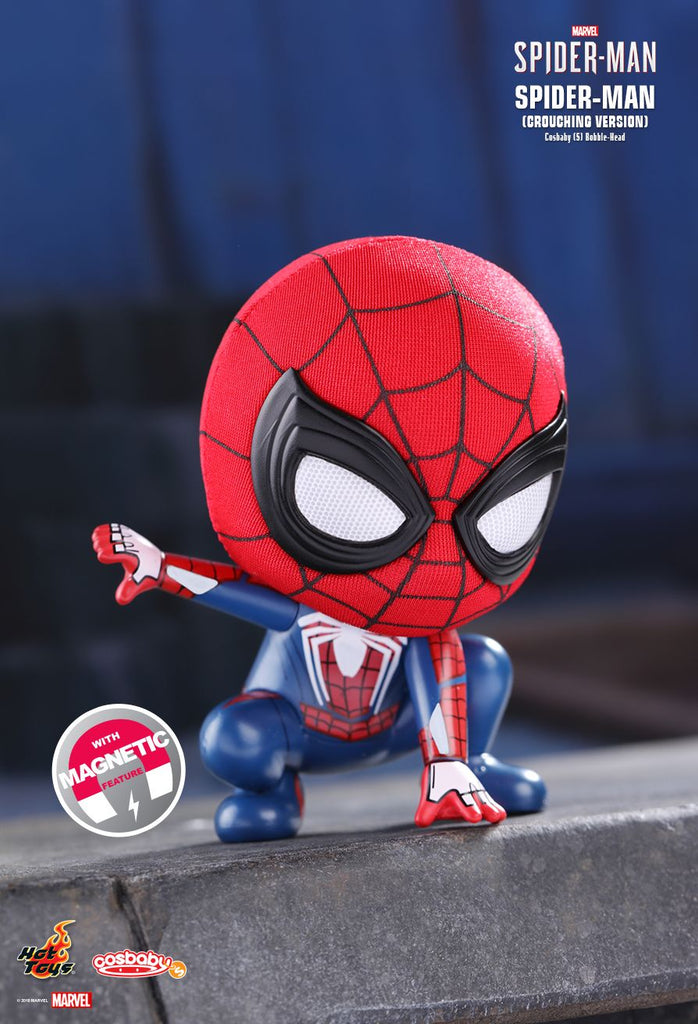 [Hot Toys Cosbaby] Spiderman (Crouching Version) - COSB514 - ActionCity Singapore