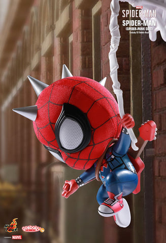 [Hot Toys Cosbaby] Spiderman (Punk Version) - COSB515 - ActionCity Singapore