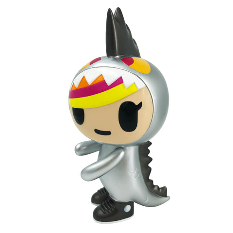 [Online Exclusive] Tokidoki Little Terror (Vinyl) Metallico | ActionCity Singapore