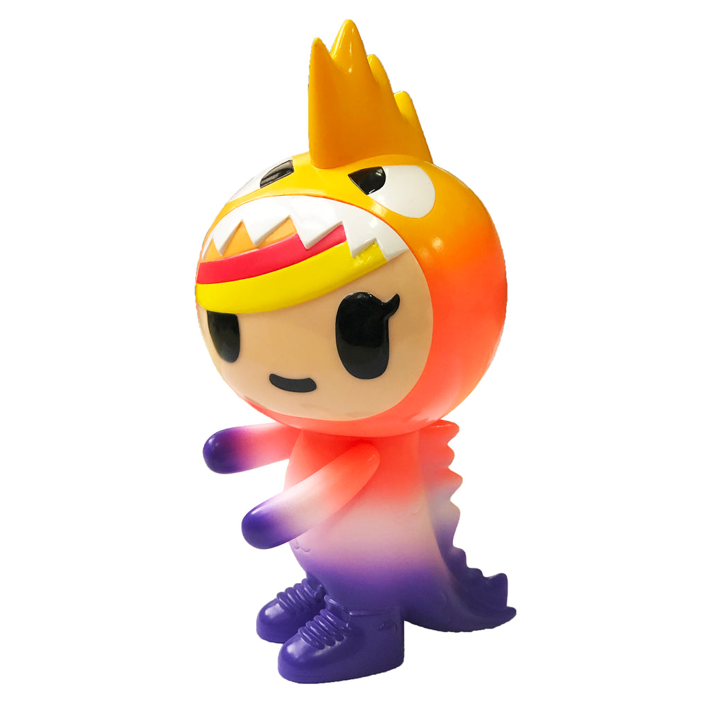 [Exclusive] tokidoki Little Terror (Vinyl) Rainbow Pop - ActionCity