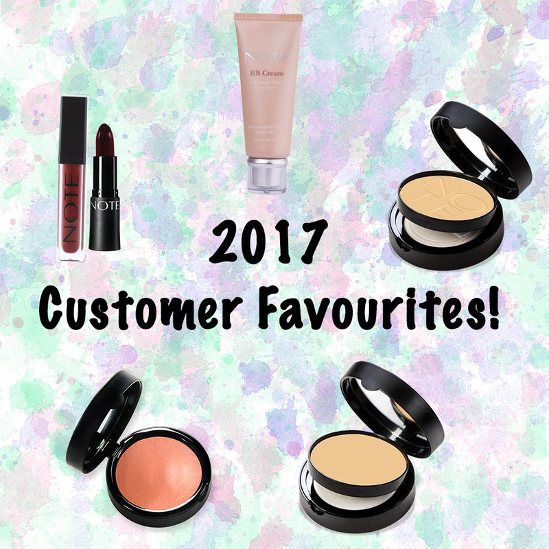 2017 Customer Favourites! - Note Cosmetics Singapore