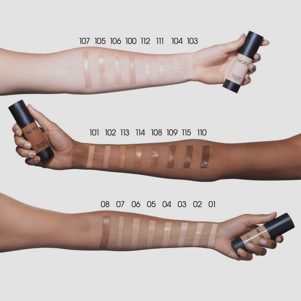 NOTE MATTIFYING EXTREME WEAR FOUNDATION PUMP - Note Cosmetics Singapore
