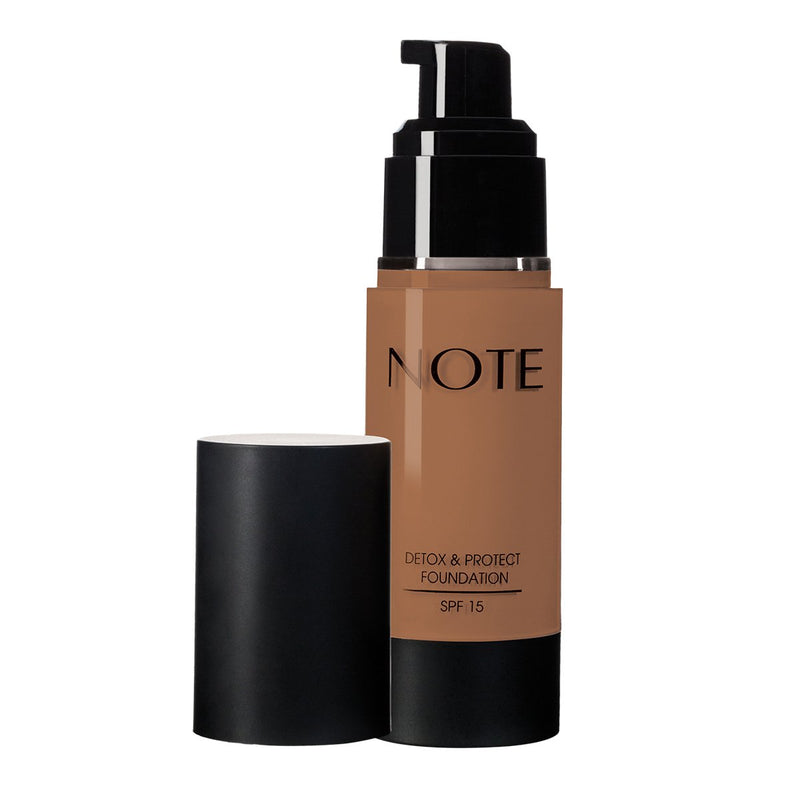 NOTE DETOX AND PROTECT FOUNDATION PUMP - Note Cosmetics Singapore