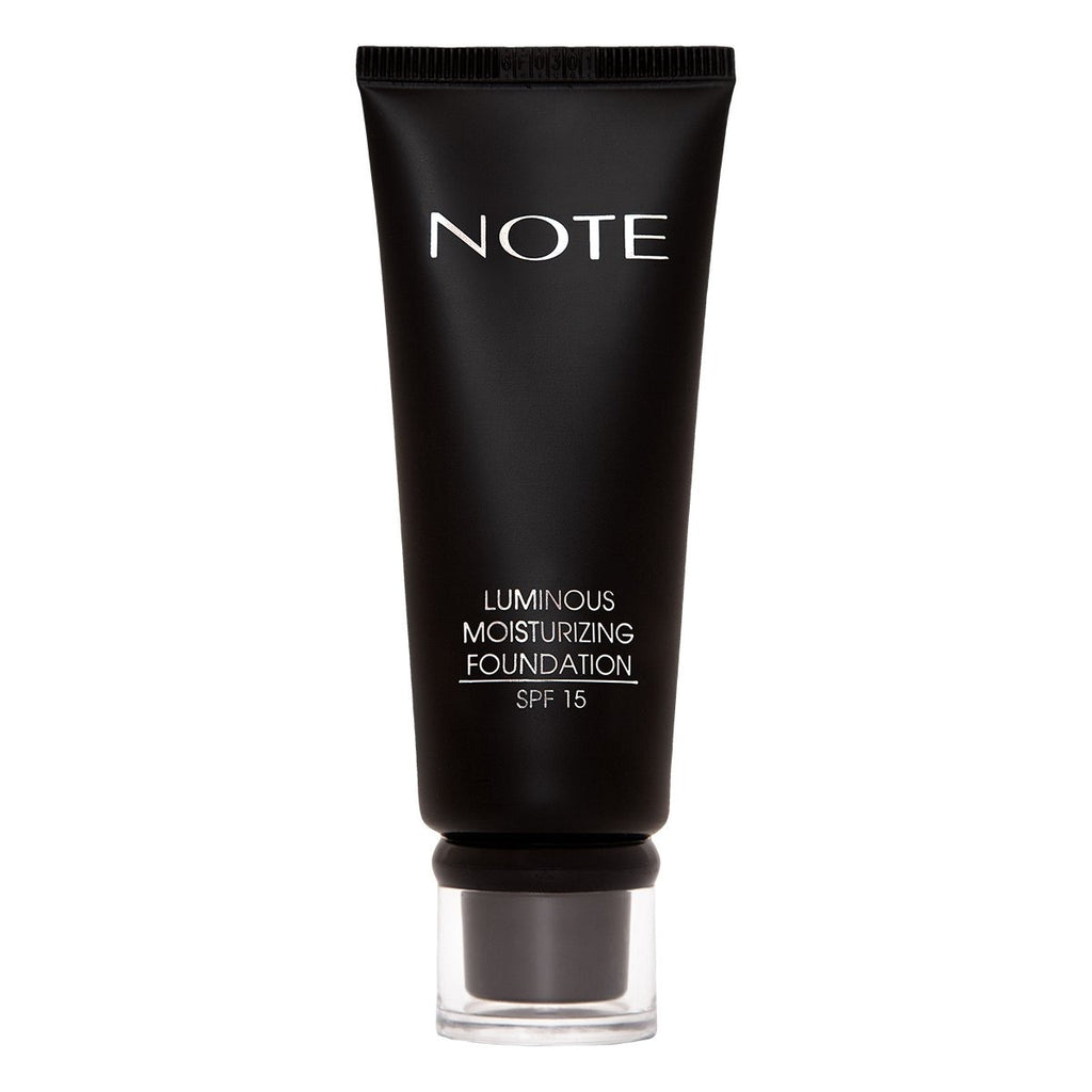 NOTE LUMINOUS MOISTURIZING FOUNDATION - Note Cosmetics Singapore