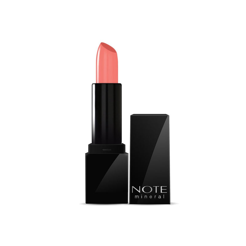 NOTE MINERAL SEMI MATTE LIPSTICK - 01 INTENSE NUDE - Note Cosmetics Singapore