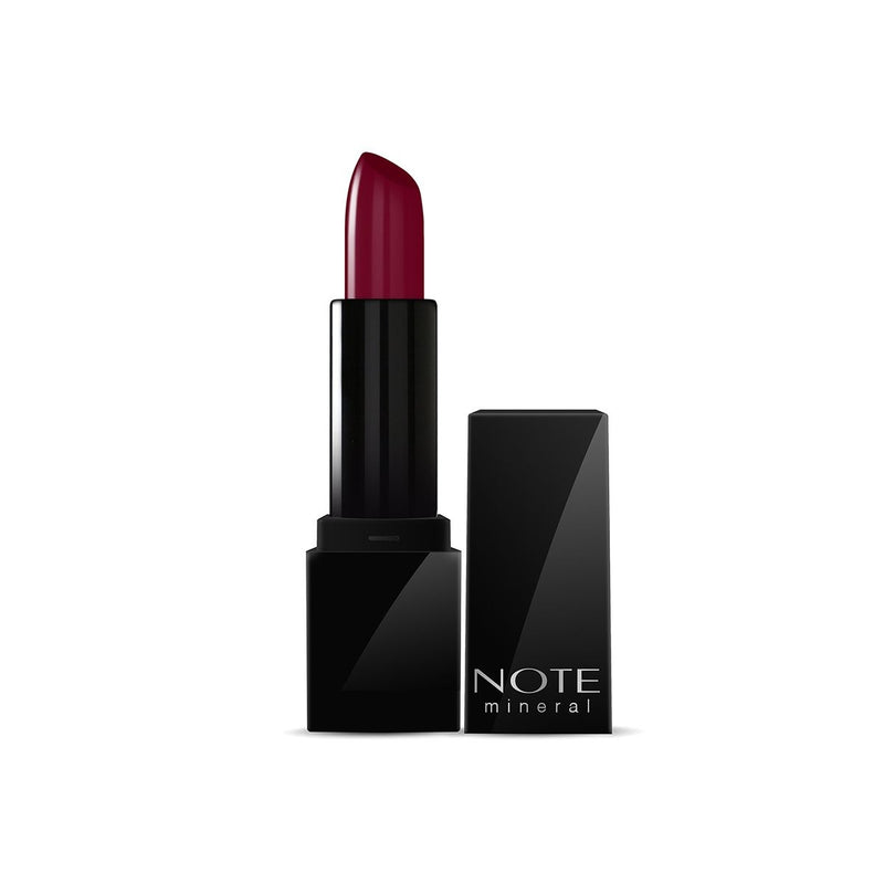 NOTE MINERAL SEMI MATTE LIPSTICK - 06 BERRY BROWN - Note Cosmetics Singapore