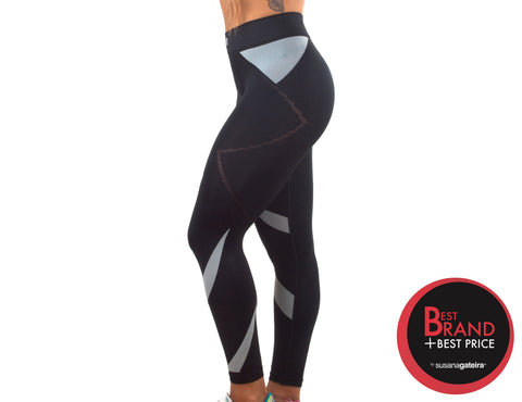 7/8 Legging  Stripy Seamless - K360