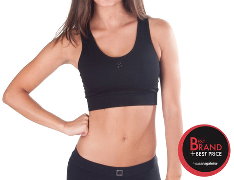 T366  (Basic High) - Seamless Crop top