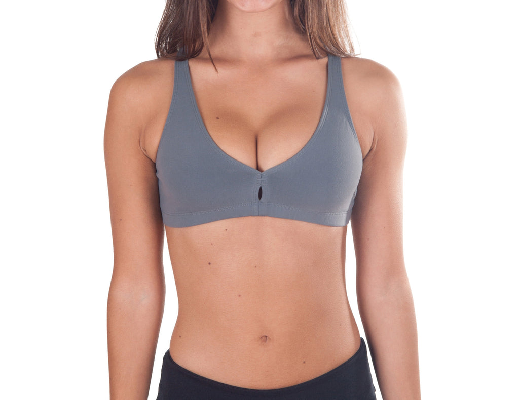 Susana Gateira Dim Gray Sports Bra by Be Your