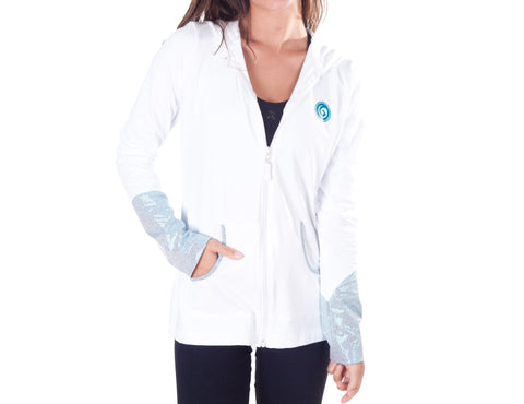 Glamour Hooded Zip Jacket- W240
