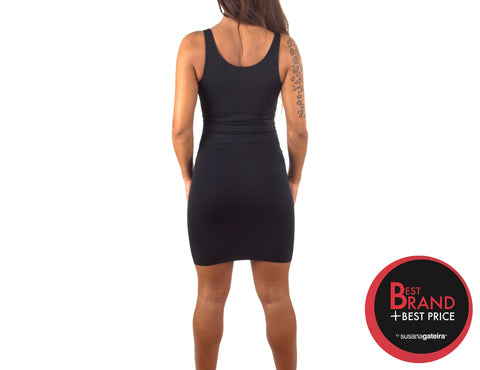 Dress Seamless Black- L1