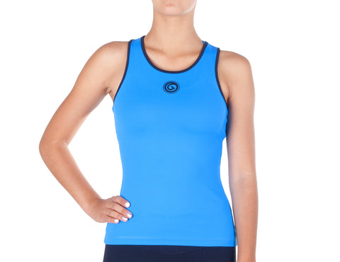 Power Fit Top - European Activewear - Blue Sky