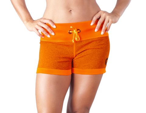 Orange Army Shorts - European Activewear - Orange