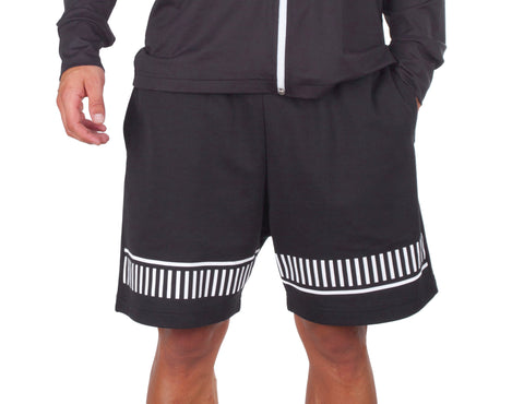 Dark Style Shorts - European Activewear - Black/White