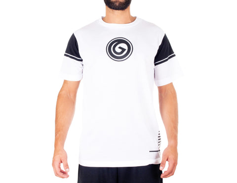 Dark Style T-Shirt - European Activewear - White/Black