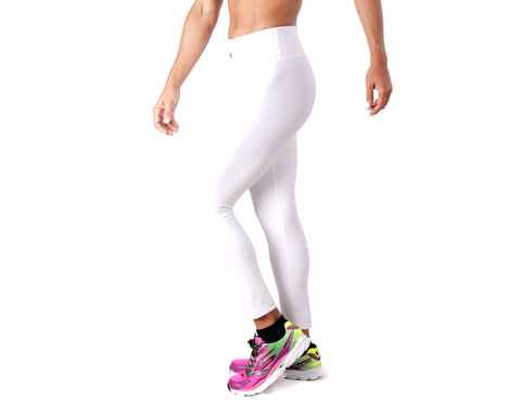 Black White Legging - European Activewear - White