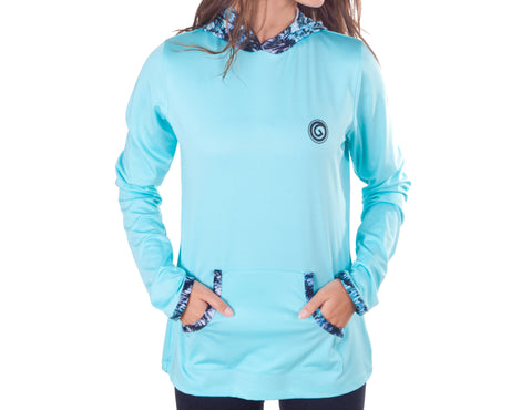 Caribbean Hooded Long Sleeve - W244