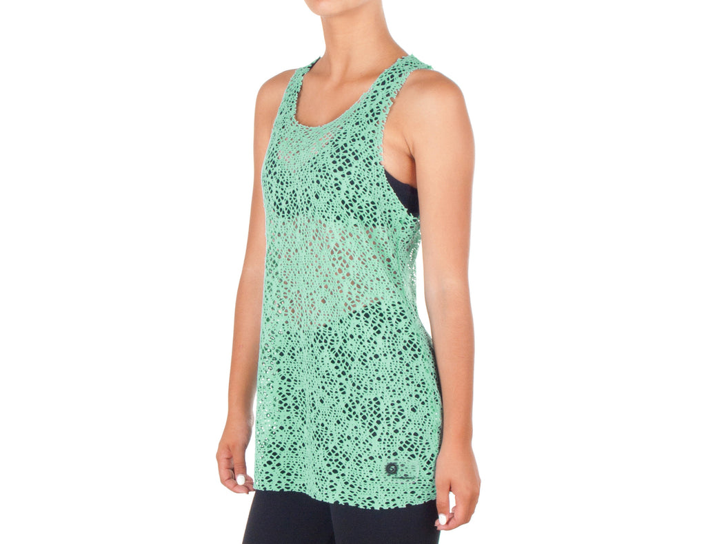 Power Fit Top - European Activewear - Water Green