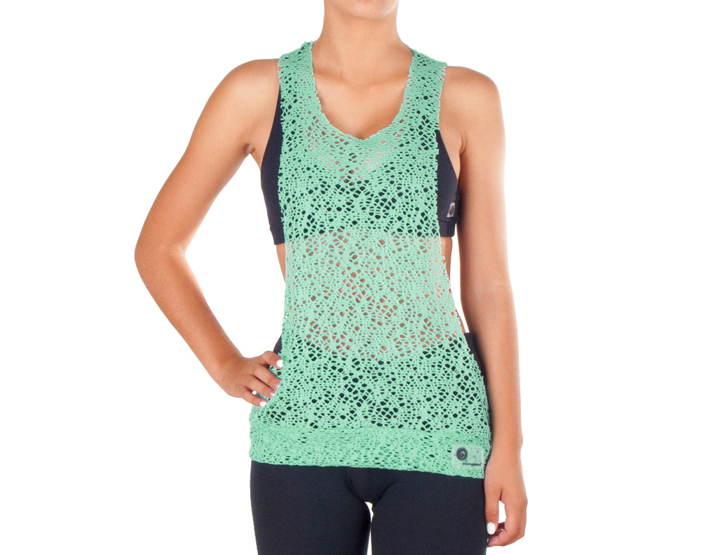 Power Fit Low Cut Top - European Activewear - Water Green