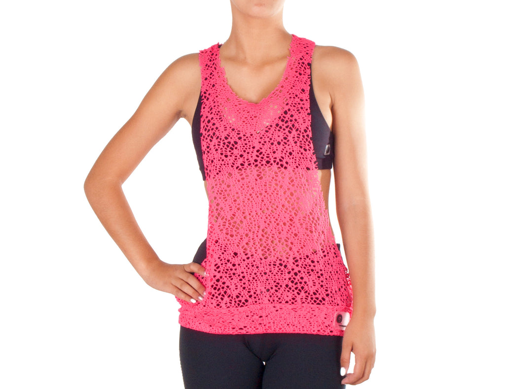 Power Fit Low Cut Top - European Activewear - Pink