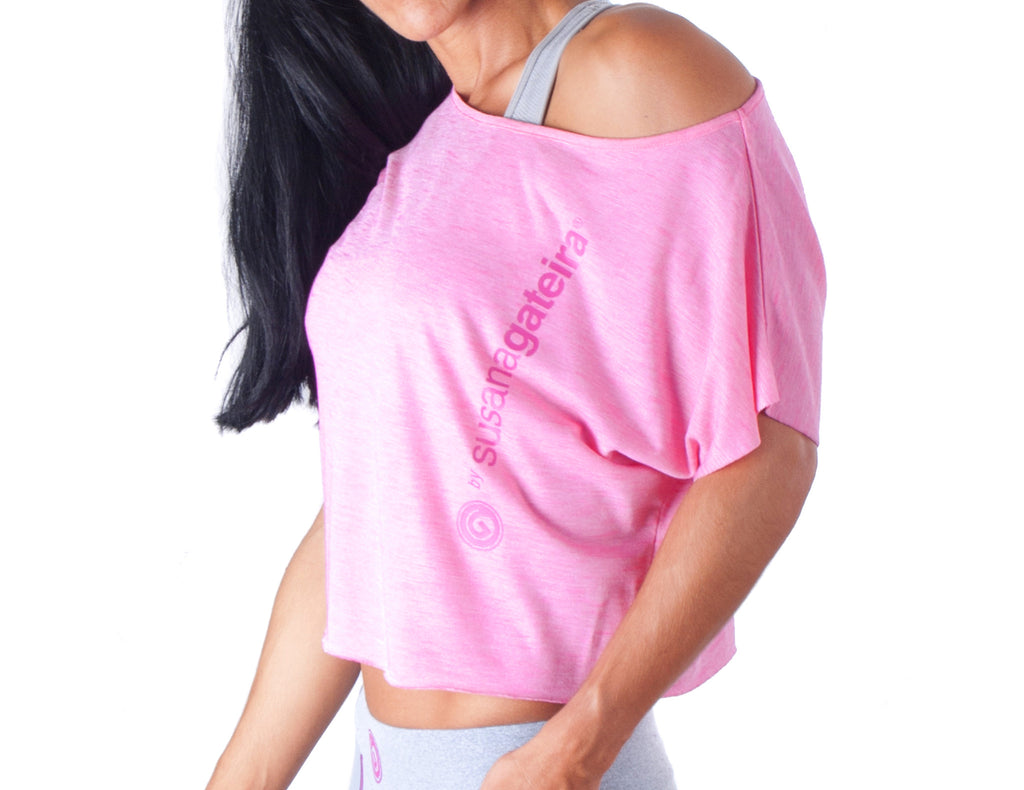 Look Lady Dance T-Shirt - European Activewear - Pink
