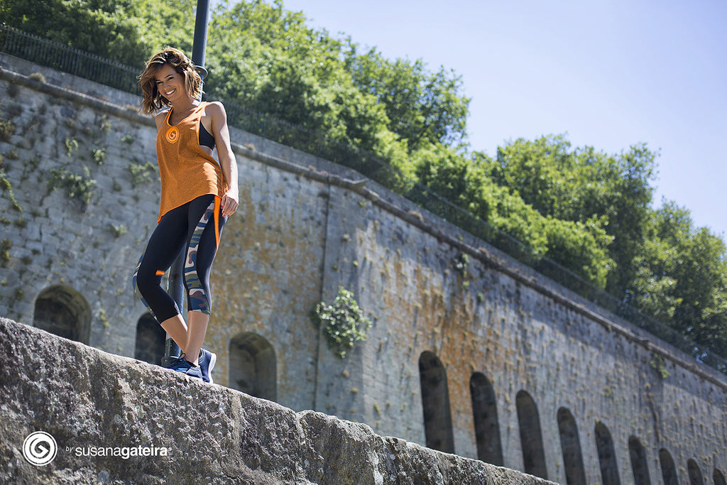 Orange Army Capri - European Activewear