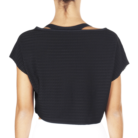 Black White T-Shirt - European Activewear - Black