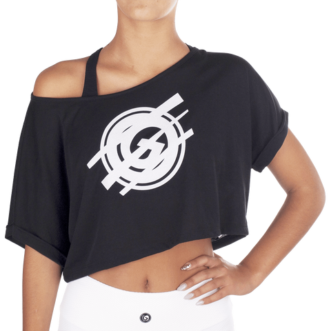 Black White Dance T-Shirt - European Activewear - Black