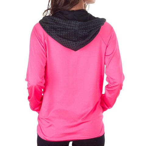 Flash Sport Hooded Jacket - European Activewear -Pink/Black
