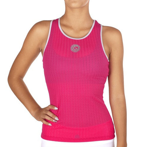 Look Lady Top - European Activewear - Fuchsia