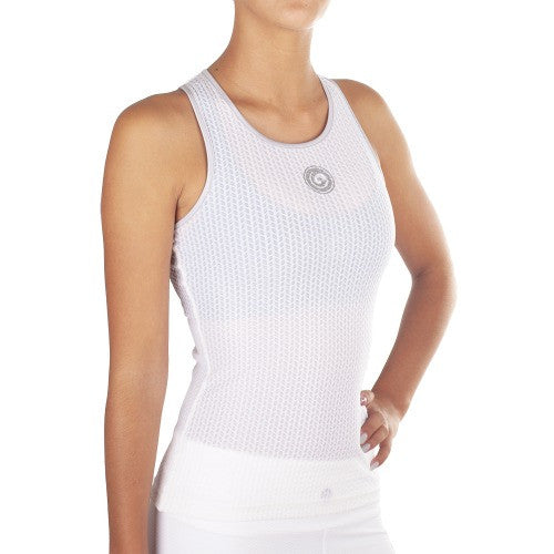 Look Lady Top - European Activewear - White