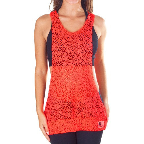 Power Fit Low Cut Top - European Activewear - Red