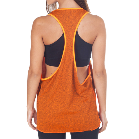 Orange Army Top - European Activewear - Orange