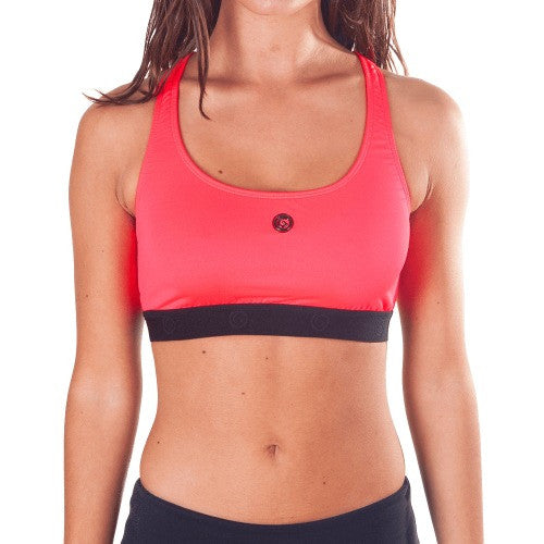 Power Fit Sports Bra - European Activewear - Red/Black