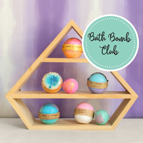 Bath Bomb Club Subscription Box - Whipped Up Wonderful