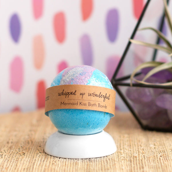 Imperfect Mermaid Kiss Bath Bomb - Whipped Up Wonderful