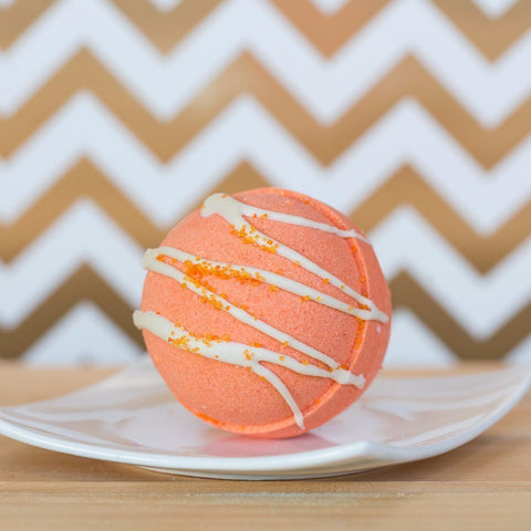 Imperfect Pumpkin Yum Bath Bomb - Whipped Up Wonderful