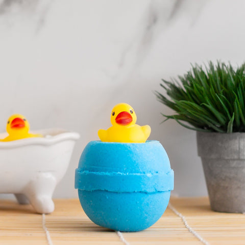 Imperfect Rubber Ducky Bath Bomb - Toy Collection - Whipped Up Wonderful
