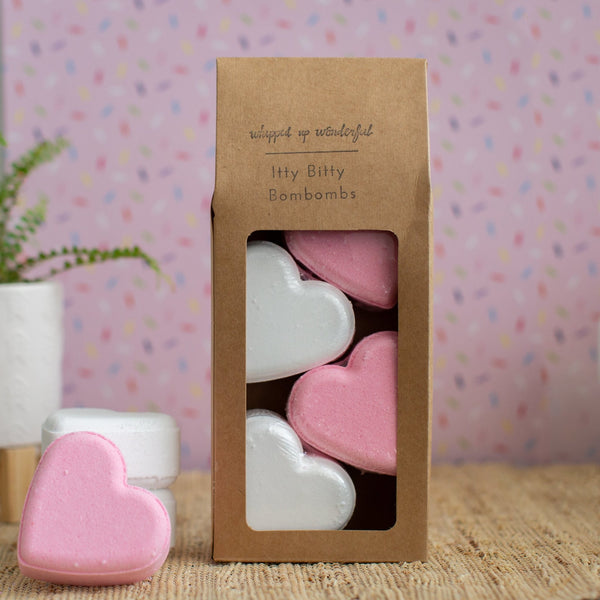 Imperfect Sweetheart Bath Bombs -Singles - Whipped Up Wonderful